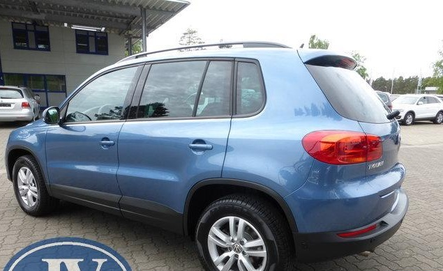 VOLKSWAGEN TIGUAN (03/2012) - LIGHT BLUE METALLIC - lieu: