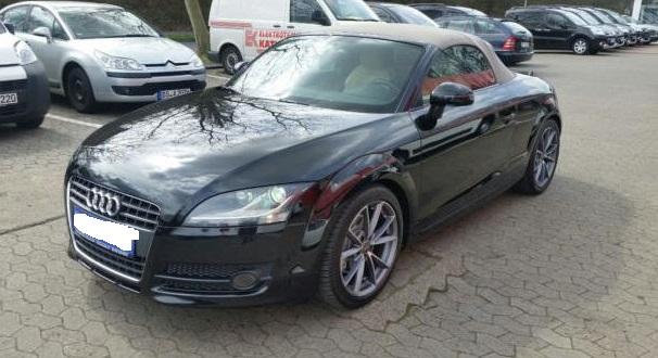 AUDI TT (05/2008) - BLACK METALLIC - lieu: