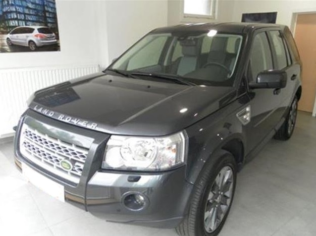 lhd LANDROVER FREELANDER (12/2010) - GREY METALLIC - lieu: