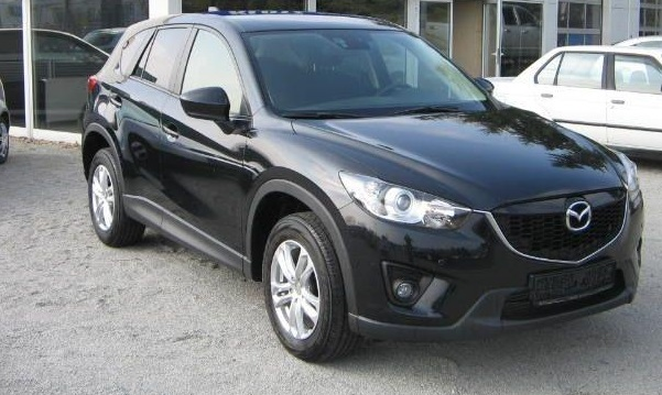 lhd MAZDA CX-5 (08/2012) - BLACK METALLIC - lieu: