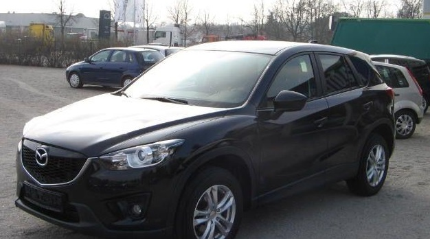 MAZDA CX-5 (08/2012) - BLACK METALLIC - lieu: