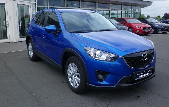 lhd MAZDA CX-5 (09/2012) - BLUE METALLIC - lieu: