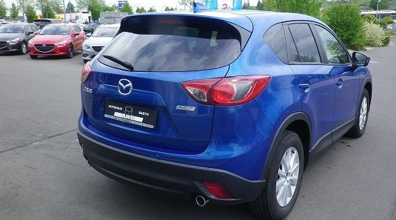 MAZDA CX-5 (09/2012) - BLUE METALLIC - lieu: