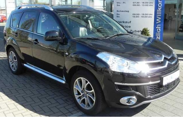 Lhd CITROEN C-CROSSER (03/2008) - BLACK METALLIC - lieu: