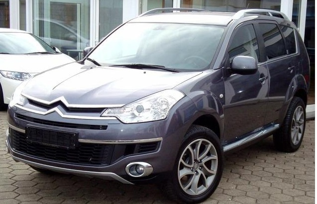 lhd CITROEN C-CROSSER (08/2010) - GREY METALLIC - lieu: