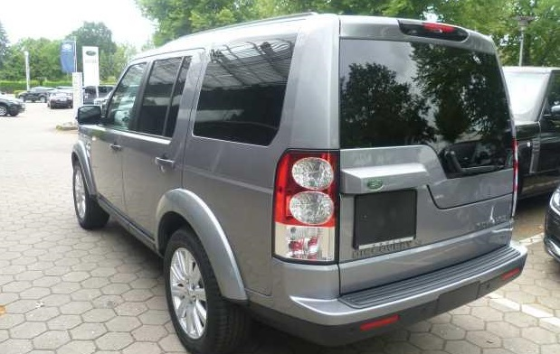Left hand drive LANDROVER DISCOVERY 4 3.0 SDV6 HSE 4X4