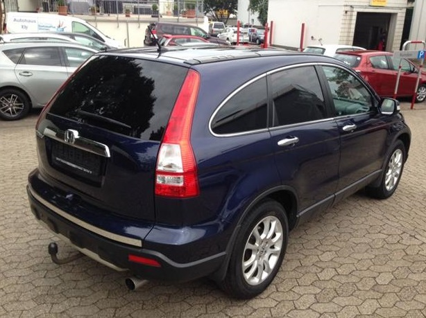 HONDA CR V (04/2008) - BLUE METALLIC - lieu:
