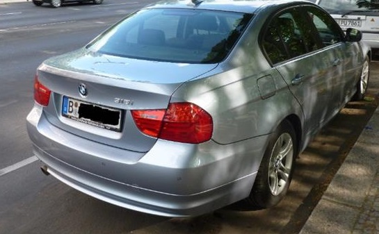 BMW 3 SERIES (05/2011) - BLUEWATER METALLIC - lieu: