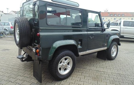 LANDROVER DEFENDER (11/1997) - DARK GREEN  - lieu: