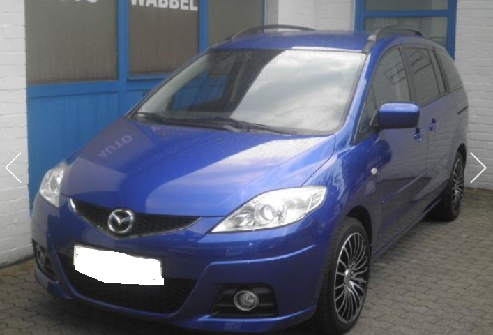 MAZDA 5 (04/2008) - BLUE METALLIC - lieu: