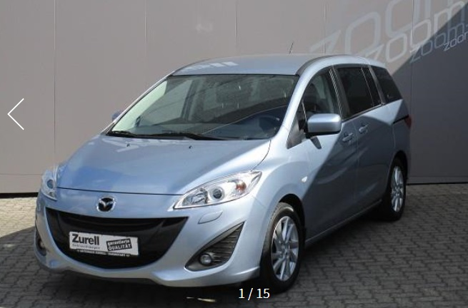 MAZDA 5 (09/2011) - BLUE METALLIC - lieu: