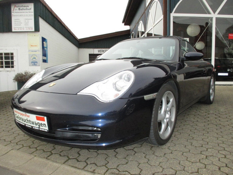 PORSCHE 911 996 (01/0) - BLUE METALLIC - lieu: