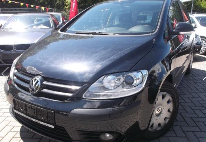 VOLKSWAGEN GOLF PLUS 1.9 TDI DSG