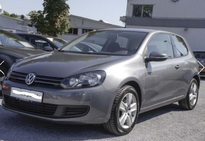 VOLKSWAGEN GOLF (06/2009) - GREY METALLIC - lieu: