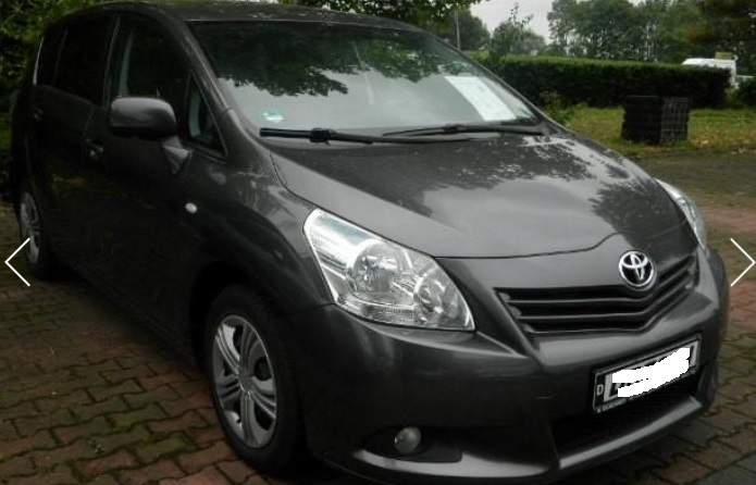 TOYOTA VERSO 2.0 D-4D LIFE 7 SEATER