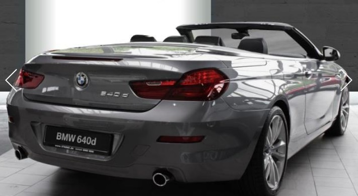 BMW 6 SERIES (09/2014) - GREY METALLIC - lieu: