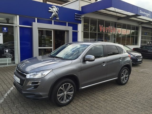 lhd PEUGEOT 4008 (03/2013) - GREY METALLIC - lieu: