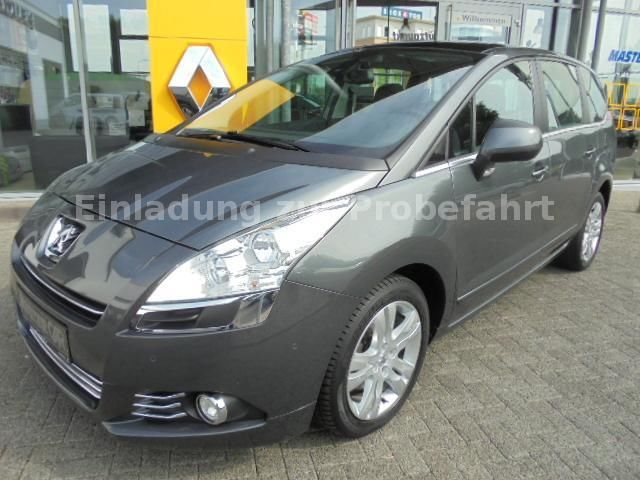lhd PEUGEOT 5008 (07/2010) - GREY METALLIC - lieu: