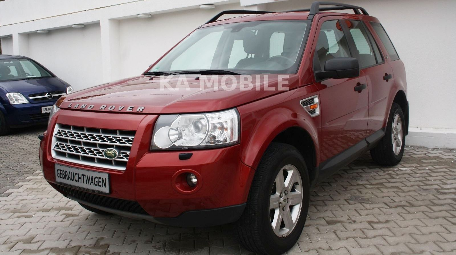 LANDROVER FREELANDER (05/2008) - DEEP RED METALLIC - lieu: