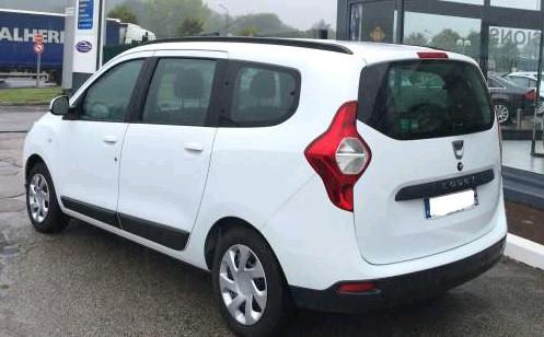 DACIA LODGY (08/2012) - WHITE - lieu: