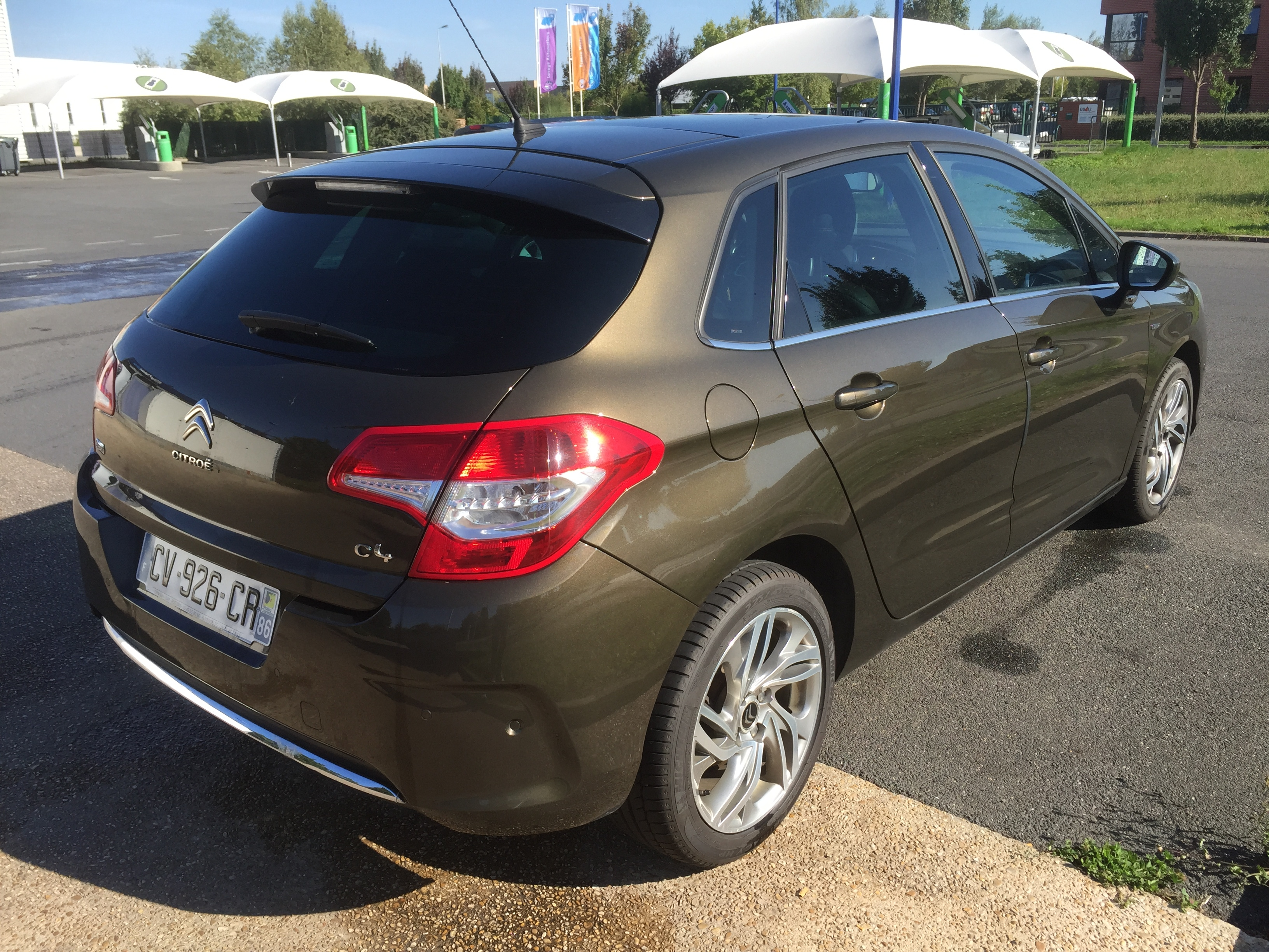 CITROEN C4 (05/2013) - BROWN - lieu: