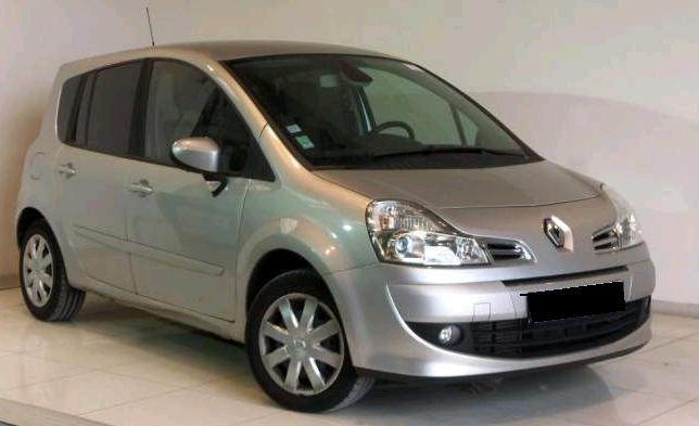 RENAULT GRAND MODUS (04/2008) - GREY - lieu: