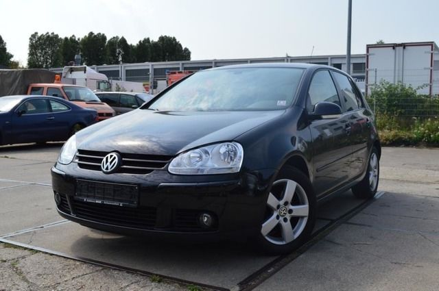 Lhd VOLKSWAGEN GOLF (04/2008) - BLACK - lieu: