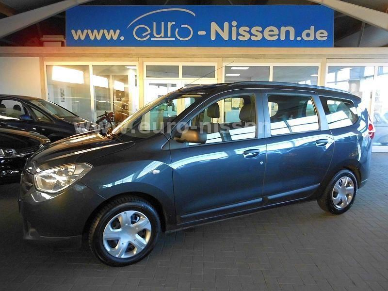 lhd DACIA LODGY (10/2012) - BLUE METALLIC - lieu: