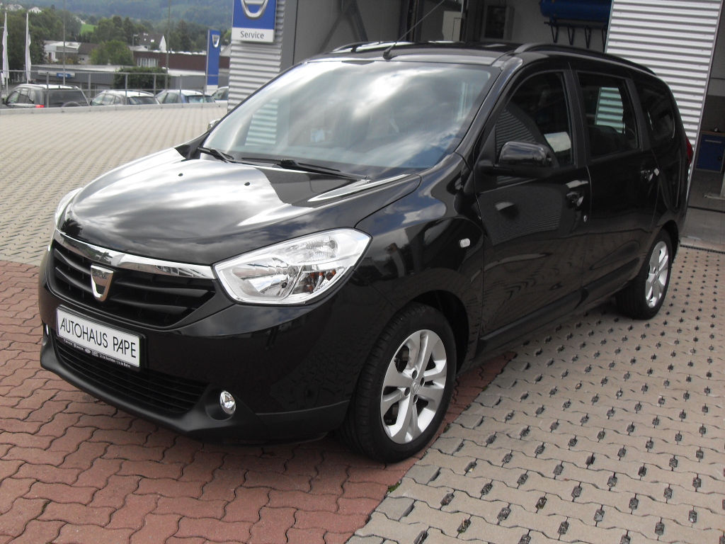 lhd DACIA LODGY (11/2012) - BLACK - lieu: