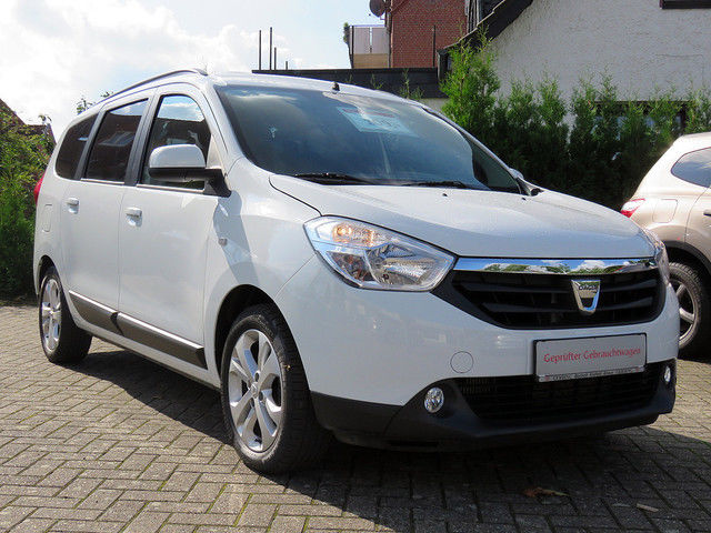 DACIA LODGY (03/2013) - WHITE - lieu: