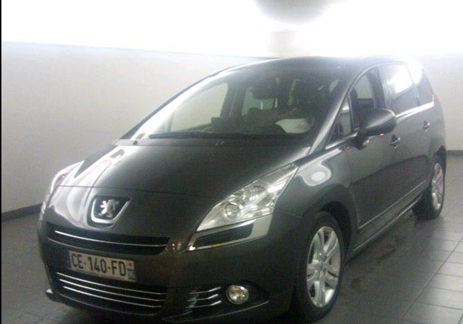 PEUGEOT 5008 2.0 HDI ALLURE 7 SEATS FRENCH REG