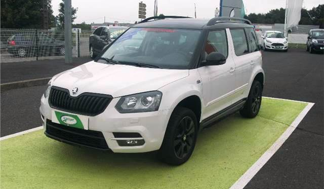 SKODA YETI 2.0 TDI 110 MONTE CARLO (FRENCH REGISTERED)