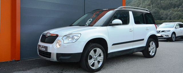 SKODA YETI 2.0 TDI 140 4X4 AMBITION (FRENCH REGISTERED)
