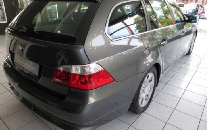 BMW 5 SERIES (10/2006) - GREY METALLIC - lieu: