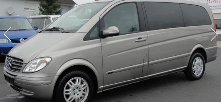 MERCEDES VIANO (10/2008) - GREY METALLIC - lieu: