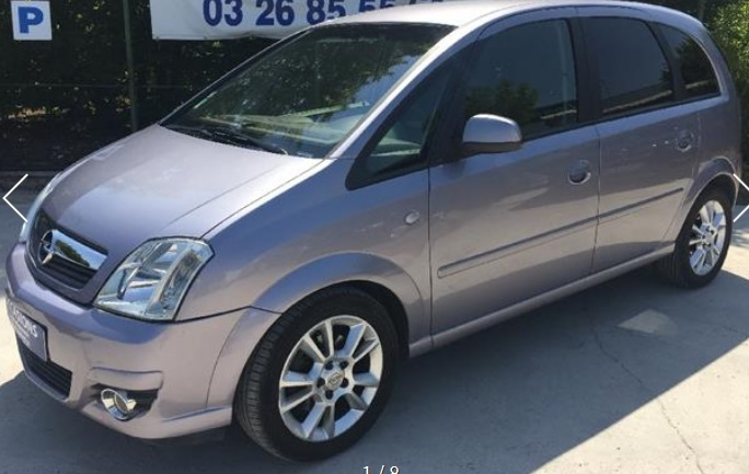 OPEL MERIVA (10/2006) - GREY METALLIC - lieu: