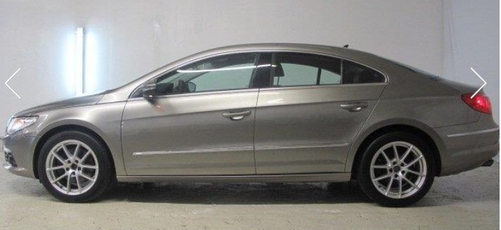 Lhd VOLKSWAGEN PASSAT CC (07/2010) - LIGHT BROWN METALLIC - lieu: