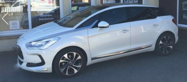 Left hand drive CITROEN DS5 1.6 155bhp SO CHIC