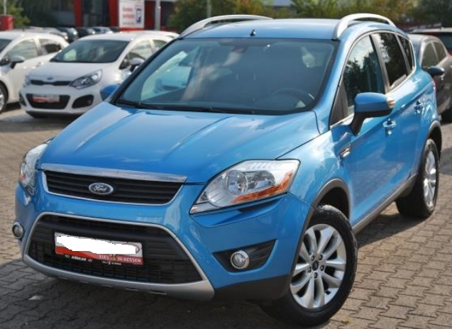 lhd FORD KUGA (10/2008) - BLUE METALLIC - lieu: