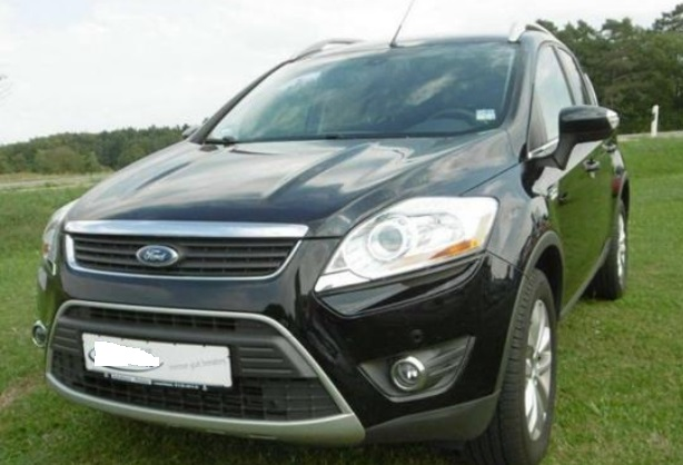 lhd FORD KUGA (09/2009) - BLACK METALLIC - lieu: