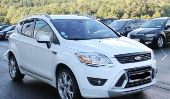 FORD KUGA (05/2011) - WHITE METALLIC - lieu:
