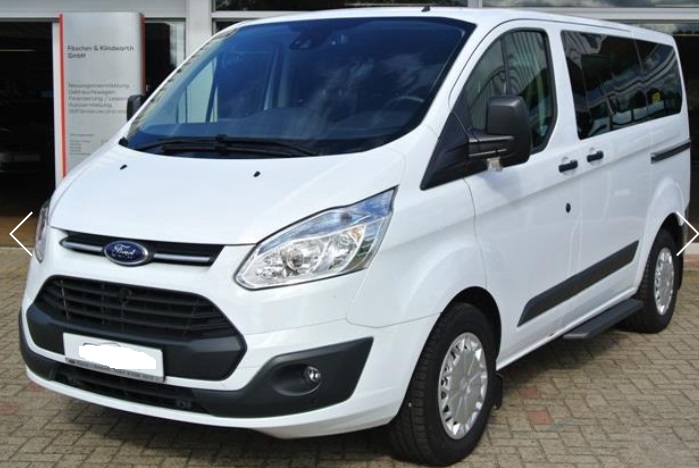 lhd FORD TOURNEO (02/2015) - WHITE - lieu: