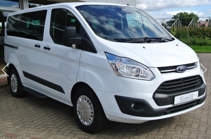 FORD TOURNEO (02/2015) - WHITE - lieu: