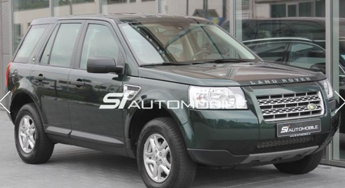LANDROVER FREELANDER (08/2010) - GREEN METALLIC - lieu: