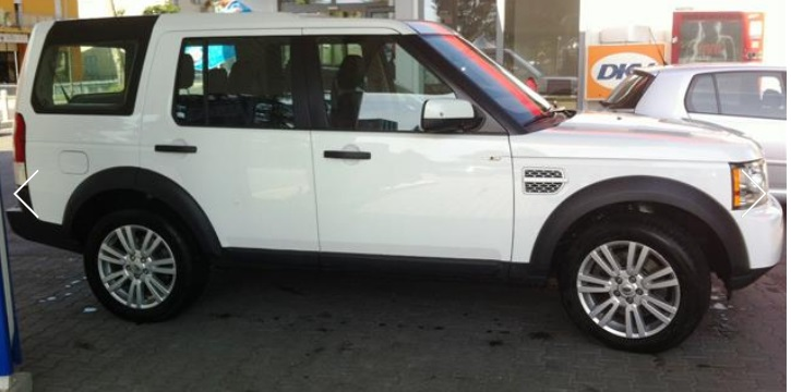 Lhd LANDROVER DISCOVERY (06/2012) - WHITE - lieu: