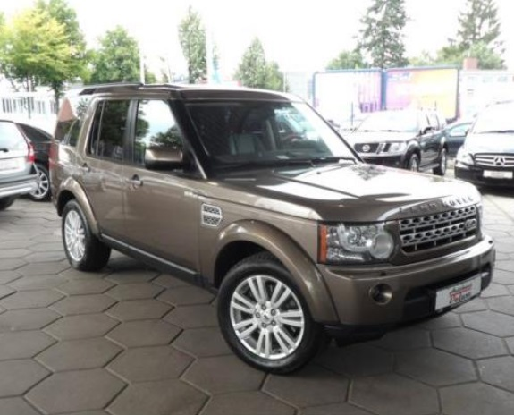 Left hand drive LANDROVER DISCOVERY 4 3.0 TDV6 HSE 7 SEATS