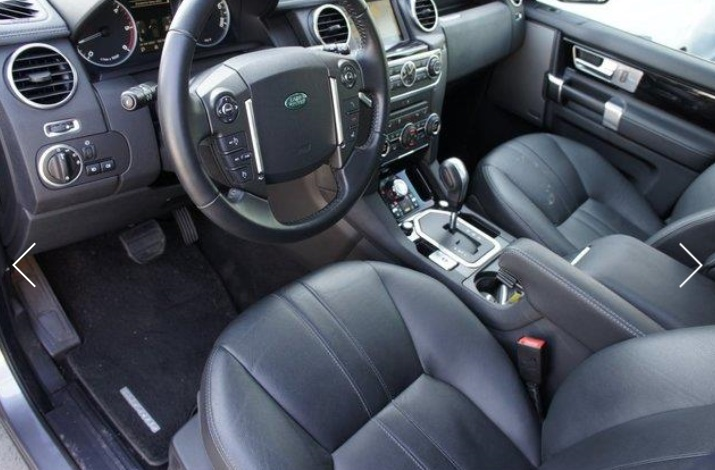 Left hand drive LANDROVER DISCOVERY 3.0 SDV6 HSE 7 SEATS