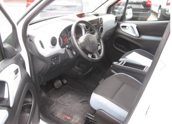 CITROEN BERLINGO (08/2012) - WHITE - lieu: