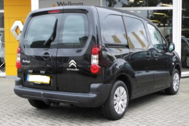 Lhd CITROEN BERLINGO (02/2013) - BLACK METALLIC - lieu: