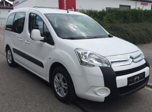 lhd CITROEN BERLINGO (09/2009) - WHITE - lieu: